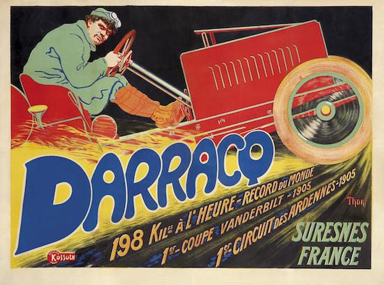 Darracq-Poster