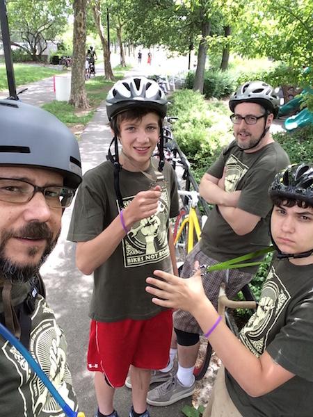 bikes not bombs ride 2