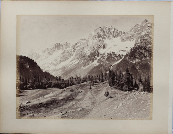 Himalaya Mountains in Kashmir - c1870's