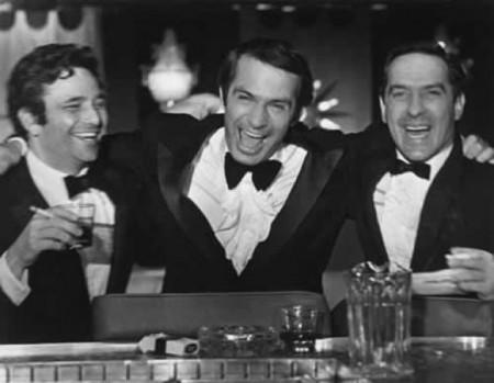 Ben Gazzara, center, with Peter Falk and John Cassavetes