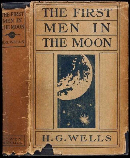 wells men in moon