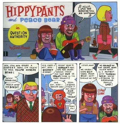hippypants peace bear