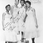 """""""The Chantels"""" Signed Portrait In NY"""