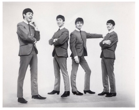 The Beatles in Cuban-heel boots.