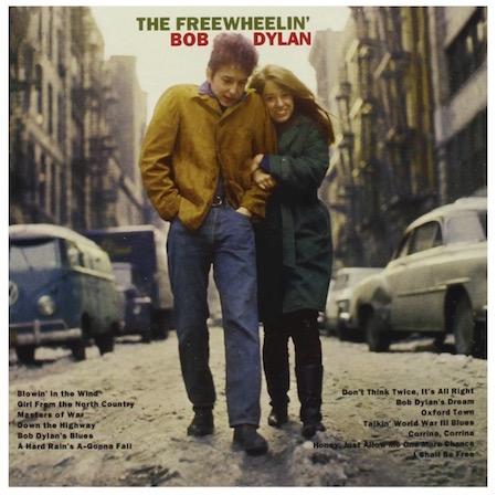 Bob Dylan in a Cuban-collared jacket