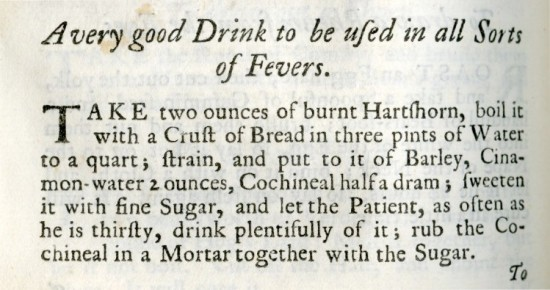 "from ""The Compleat Housewife"", Eliza Smith, London, 1734"
