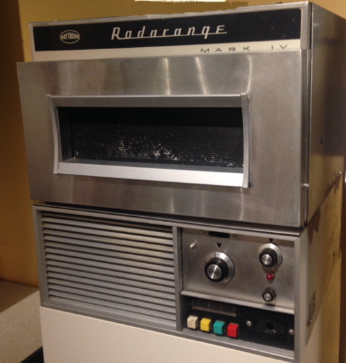 An early 1960s Radarange at the Culinary Arts Museum