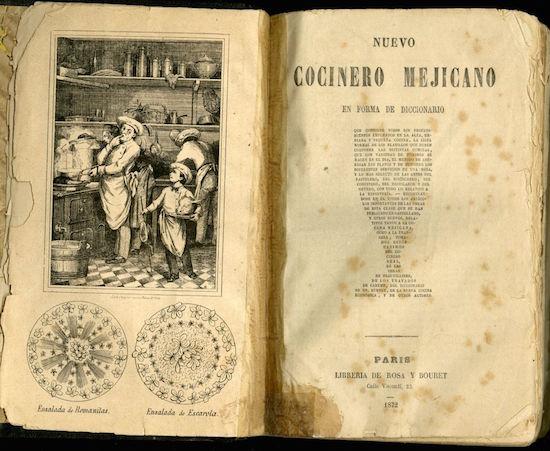 Nuevo Cocinero Mexicano en Forma de Diccionario