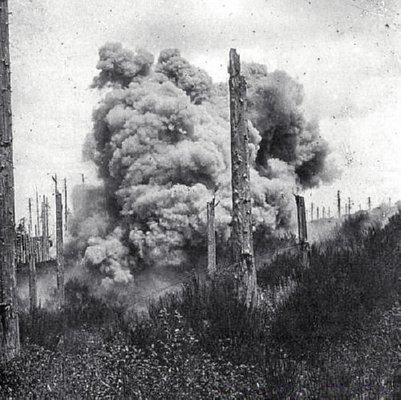 Vosges -1915 - Mine Explosion
