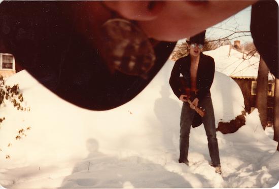 Josh's New Wave/punk band, c. 1983