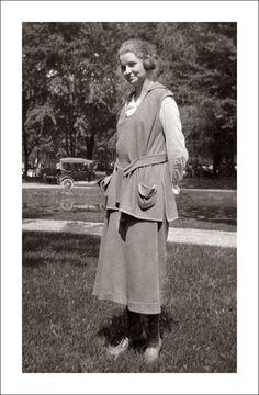1920s beachwear
