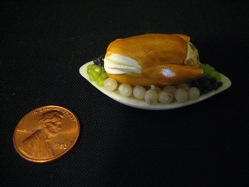 MINIATURE TURKEY DINNER